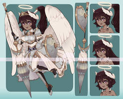 [Adopts] Angel | USD/AUC | closed by skele-tea