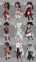 [Adopts] Chibis || USD/Flat |closed by skele-tea
