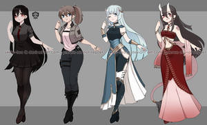 [Adopts] Girls | Flat | closed