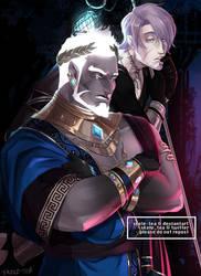 [OC] Hades + Thanatos