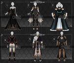 [Adopts] Outfits | Flat | closed