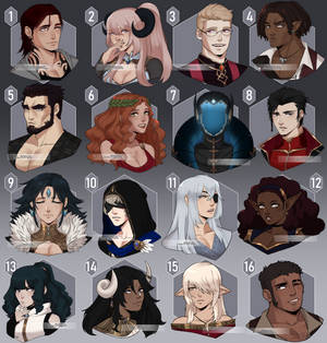[Adopts] OPEN - Busts 3/16