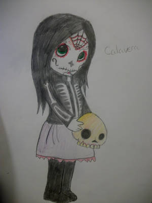 Calavera The Living Dead Doll by XxGothic-AngelxX