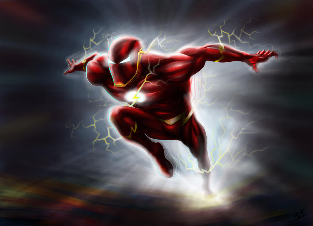 Flash running by lnpbr on DeviantArt