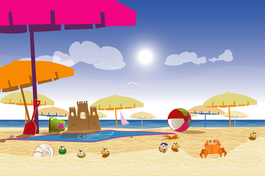 Rolling legend sunny sandy beach landscape study by frandali on rolling legend sunny sandy beach landscape study by frandali voltagebd Choice Image