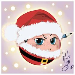 Frandali-Santa :D by Frandali