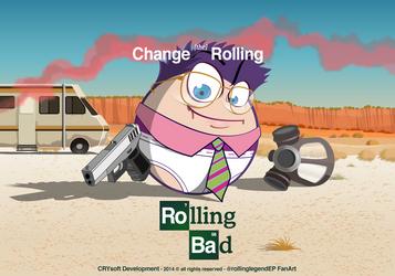 Breaking Bad + Rolling Legend by Frandali