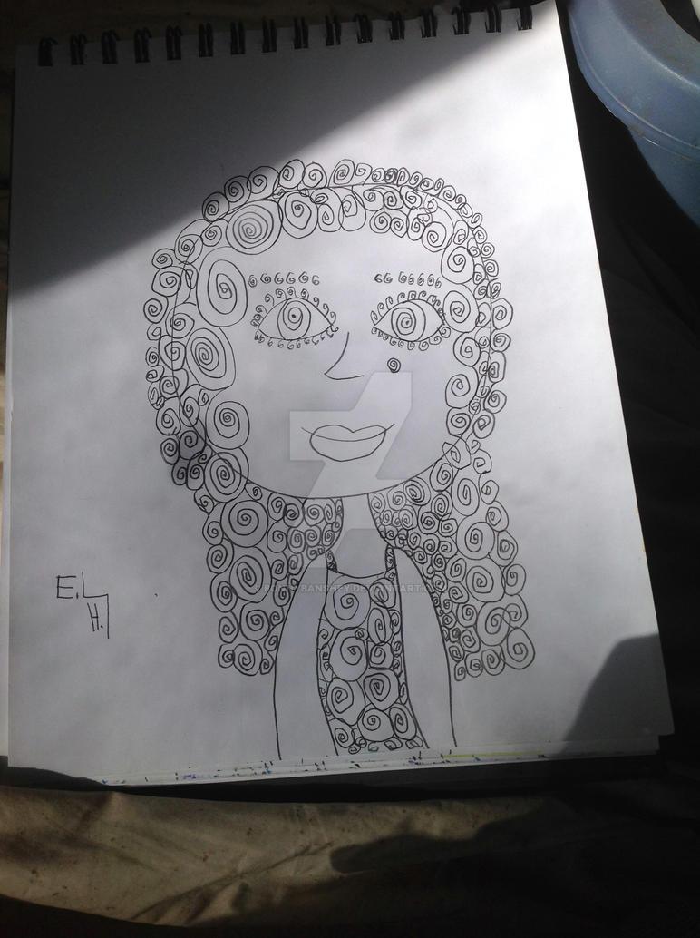 Spiral curls by bonnybanshey