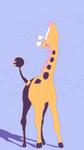 Girafarig - DMAP by Roosk