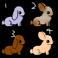 Bunny Adopts by ThePoppymist