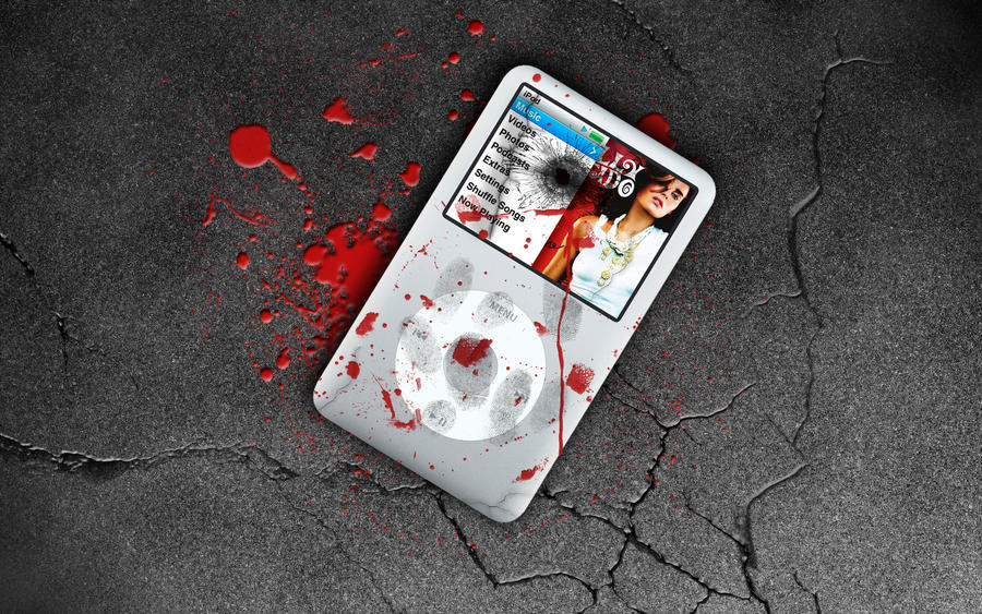 iPod Murder Wide Wallpaper by OloUnited
