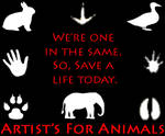 Artists for Animals Logo