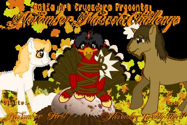 November Mascot Challenge by WolvenRemorse