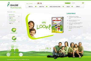 Kalbe Nutritional Website by unofficialharmony