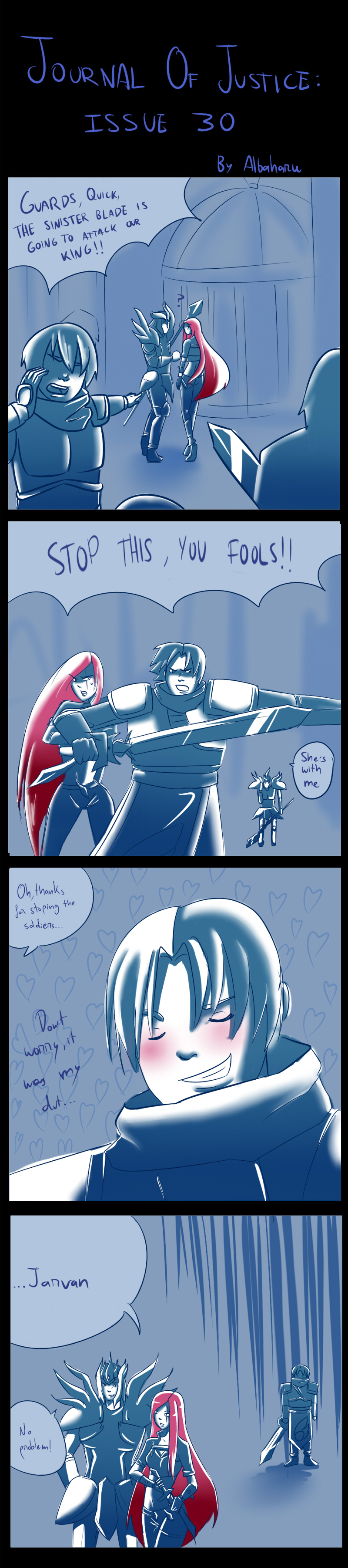 LoL- Its my duty to protect the innocent by Albaharu