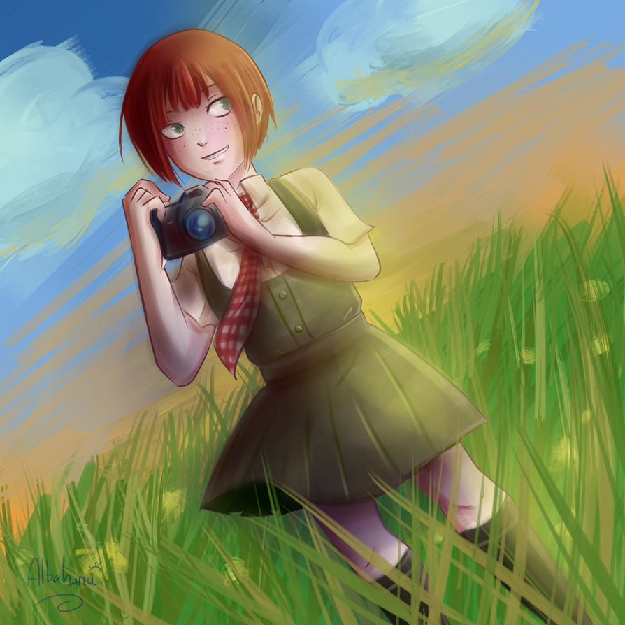 Dangan Ronpa 2- Mahiru Koizumi by Albaharu