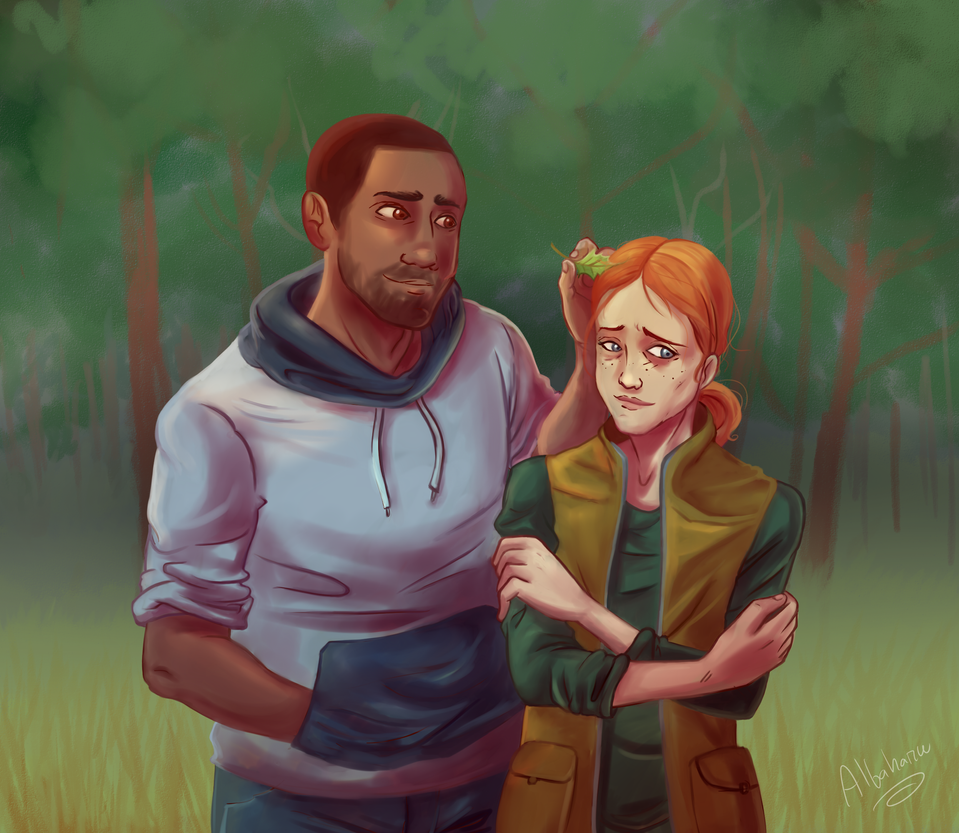 TWDG- Bonnie and Mike by Albaharu