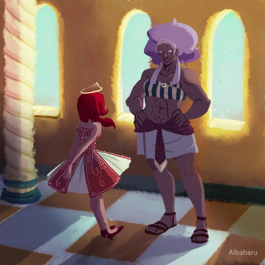 Nazrah and Nimri'hara by Albaharu