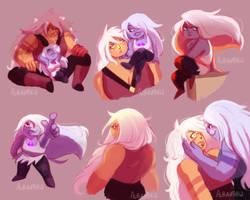 Steven Universe - Jasper and Amethyst