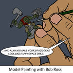 Model Painting with Bob Ross