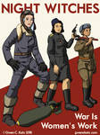 Night Witches Recruitment Poster