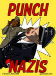 Punch Nazis poster