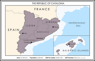 Republic of Catalonia by xlander684