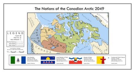 The Arctic States (Second Renaissance) by xlander684