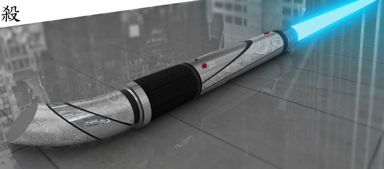 Star Wars LIGHTSABER- katana by syarawi