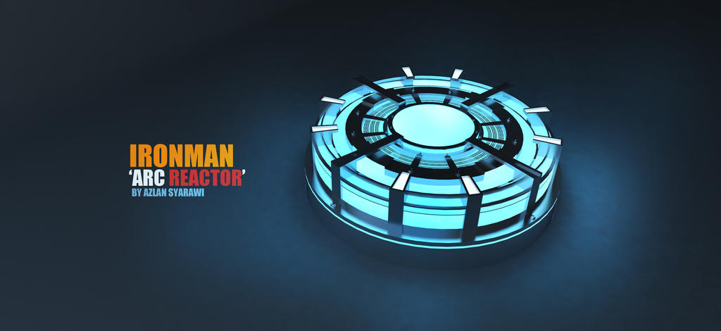 Arc Reactor IRONMAN! by syarawi