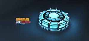 Arc Reactor IRONMAN! by syarawi