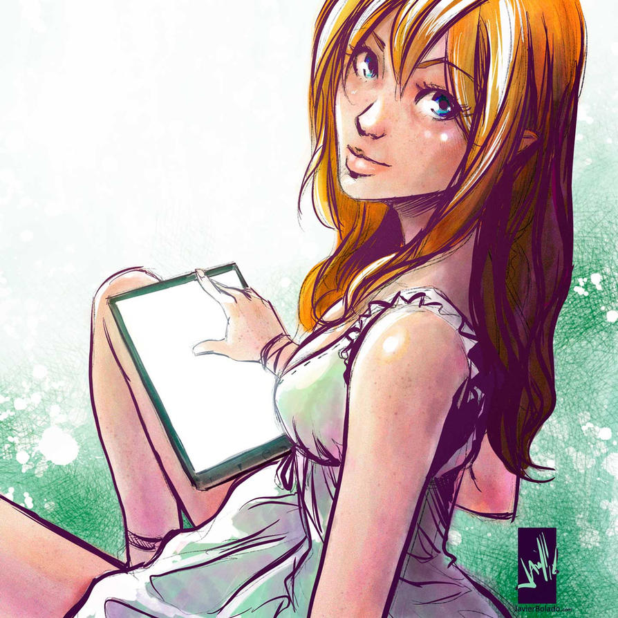 Eliel in modern outfit by javierbolado