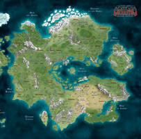 Anima: Mapa Gaia by javierbolado