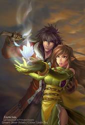 Esencias. Knight and Princess by javierbolado