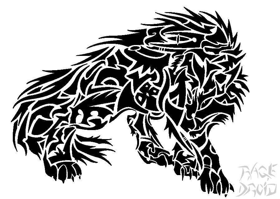 28 werewolf tribal tattoo tattoos designs ideas and