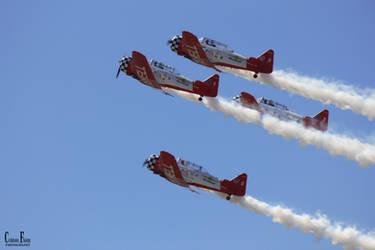 AeroShell Aerobatic Team by Crimson-Fhang