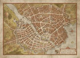 City of Kingkel by MistyBeee