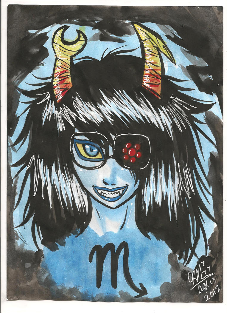 vriska by Gresta-GraceM