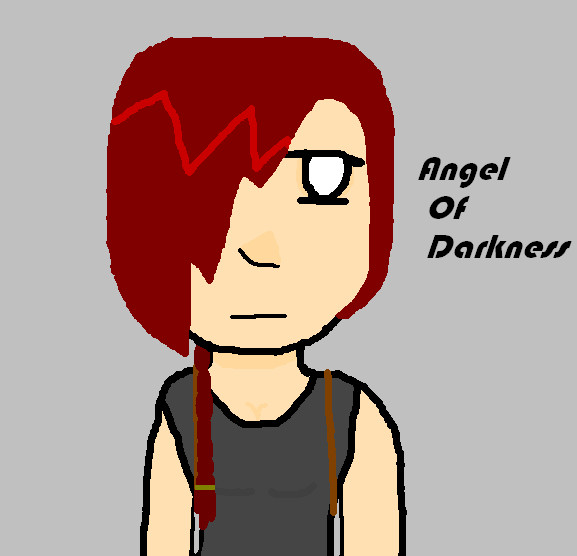 The Angel Of Darkness. by ilovesilenthill