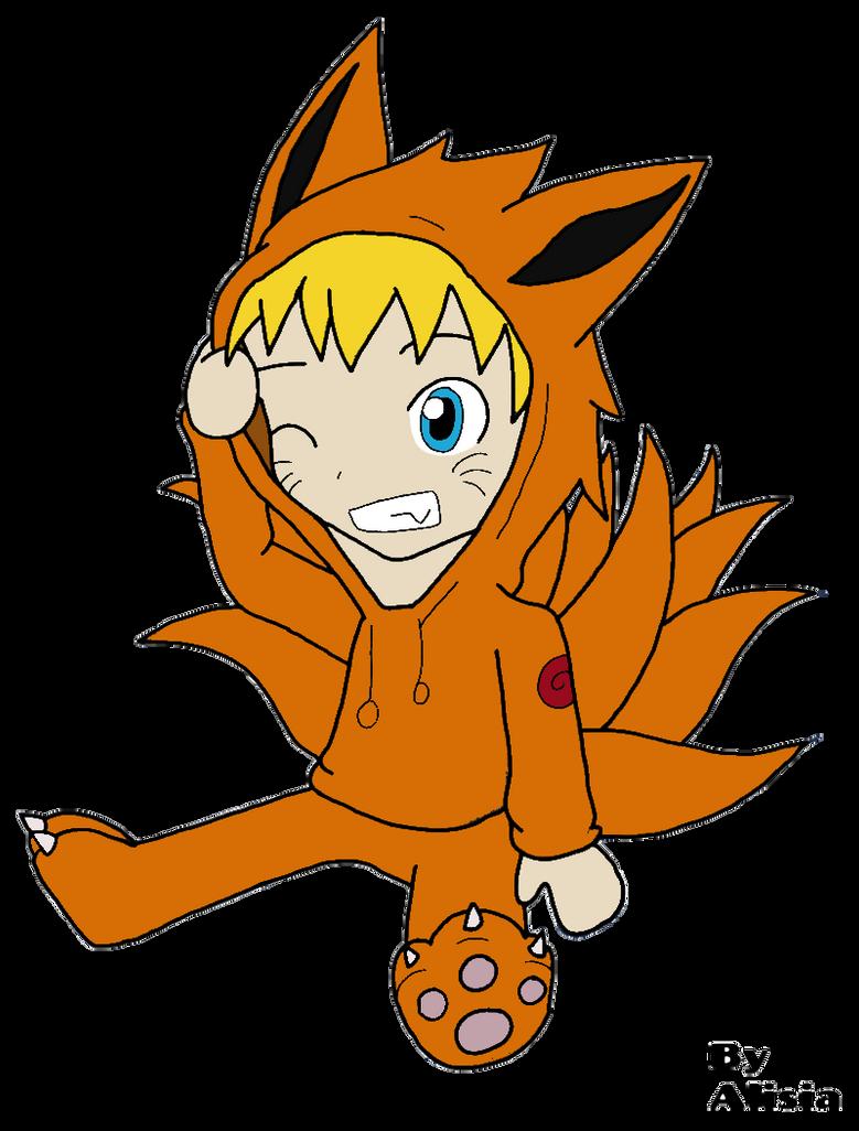 Chibi naruto deguiser en kyubi by kiruariesajisaimanga on - Naruto kyubi dessin ...
