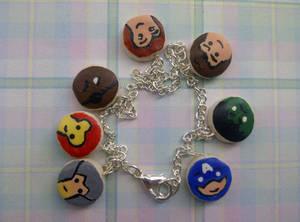 The Avenger's Charm Bracelet