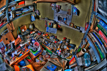 I can't find my keys HDR by langusmaiden