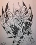 Aiacos Garuda by arkhampatient00