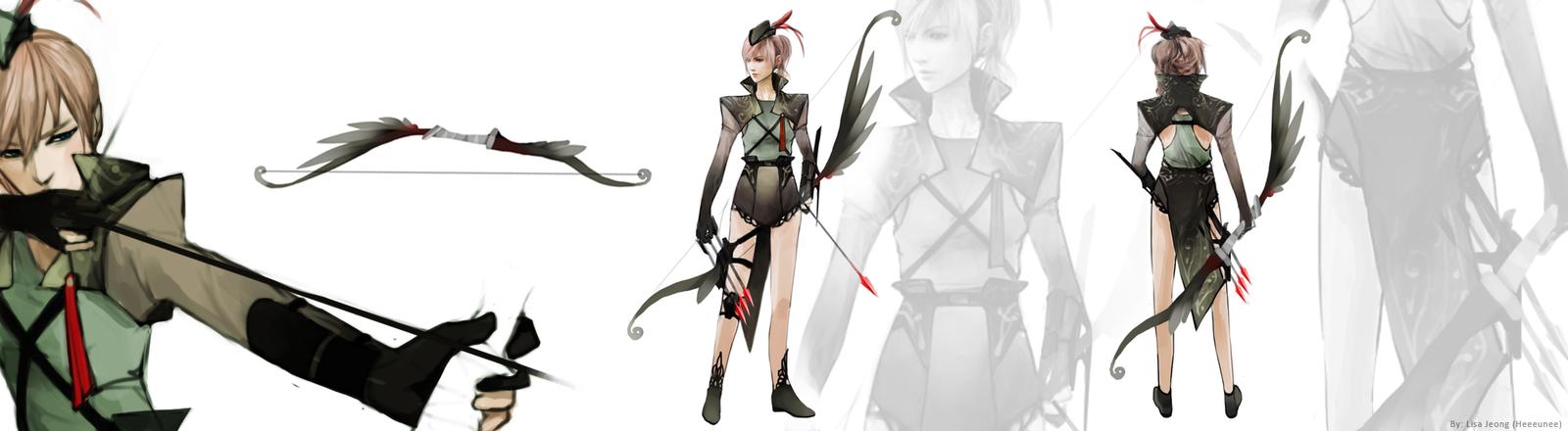Robin by Heeeunee