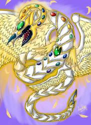 Rainbow End Dragon by LightEndDragon