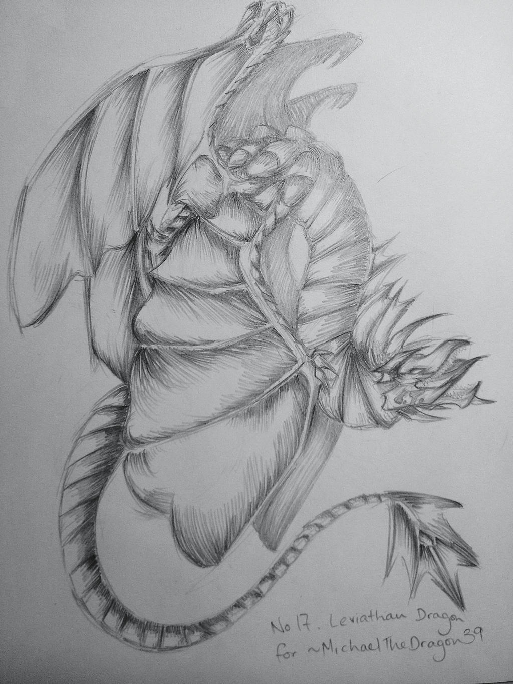 No. 17-Leviathan Dragon by LightEndDragon on DeviantArt