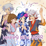 Happy New Year 2019 [+SP]