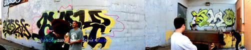 Graffiti Pano by Naturalyawesome