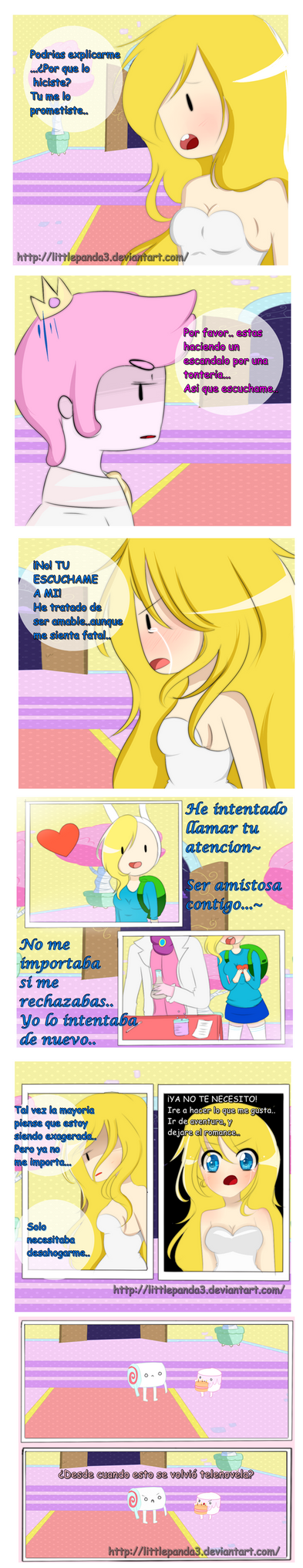 Adventure Time Comic Parte 23- by LittlePanda3
