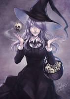 The Witch by zerellenz
